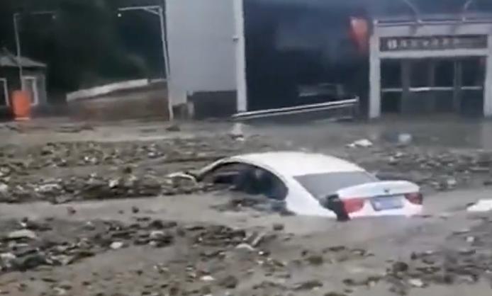 游客中心被淹埋?洛阳市嵩县白云山景区回应了