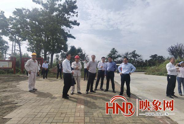 许昌市人大调研组27日到禹州市调研自然资源管理情况
