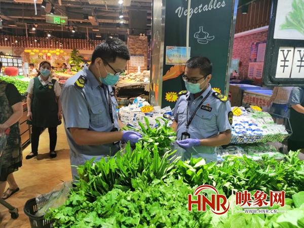 驻马店西平县:开展节日食品安全专项抽检工作