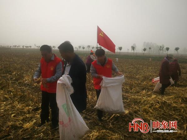 """我为群众办实事 安阳市各级工会开展""""三秋""""助农志愿服务"""