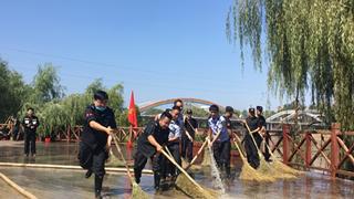 漯河公安:护安清淤 还景于民