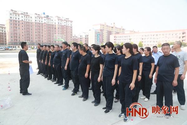 周口:郸城县公安局组织开展全警大练兵