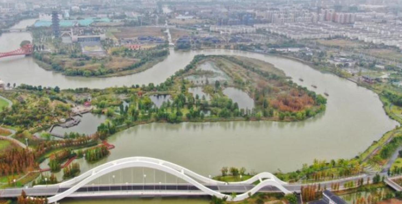 海内外媒体做客扬州古运河畔