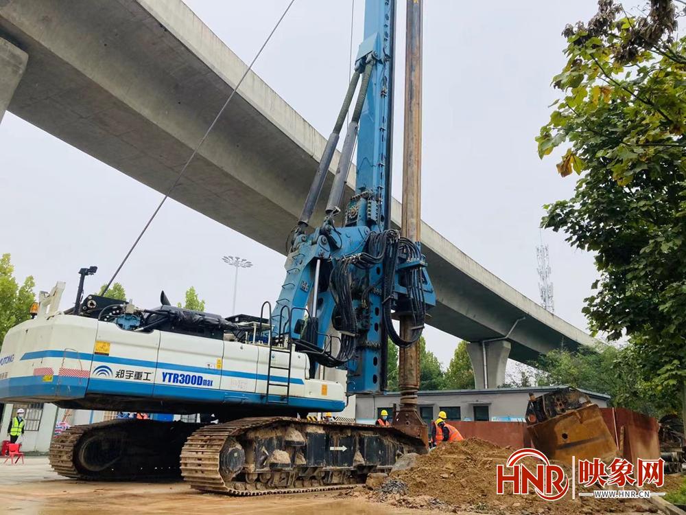 郑州彩虹桥迎来新进展 预计工程将在2023年上半年完成