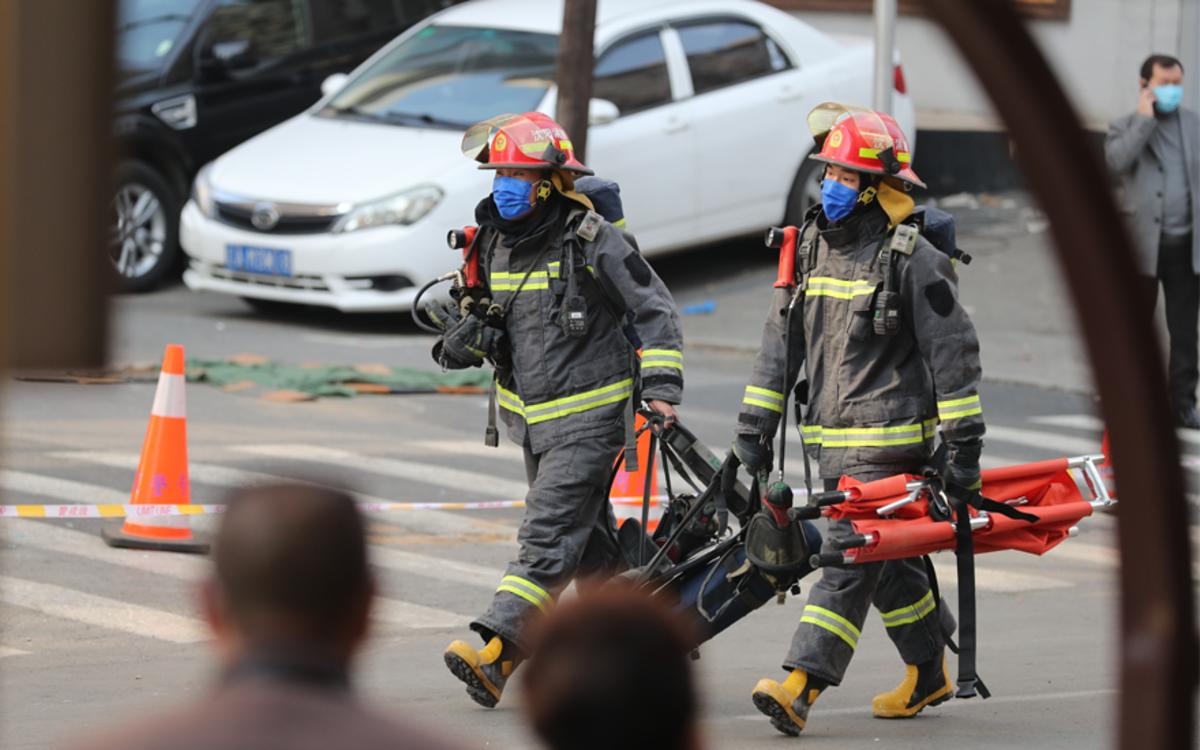 沈阳一饭店爆炸事故,救援队:伤者转移迅速,救援速度快