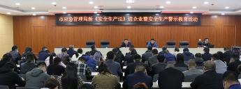 大发dafa888:应急管理局组织开展新《安全生产法》进企业活动