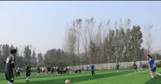 尉氏县首届女子足球比赛如火如荼进行